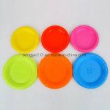 Wegwerf-PS-umweltfreundliche materielle Blasen-runde Platte