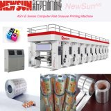 Asy-carril de la serie D plástico Máquina de Impresión Huecograbado