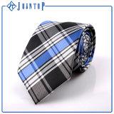 Qualitäts-Gitter-Krawatte 100%Polyester Soem-Krawatte