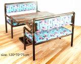 Latina Style Vintage barra de metal mesa y silla (LL-BC090)