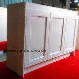Heiß, die neuester Rahmen-Entwurf MDFweißen Matt MDF-Badezimmer-Eitelkeits-Schrank-Sets verkaufend