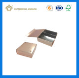 Plano plegable Handmaded caja de embalaje de papel (con cierre magnético)