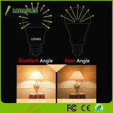 3W 5W 6W 9W 12W Economie d'énergie Dimmable Globe E26 Ampoule LED avec Ce RoHS UL