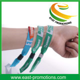 Il poliestere personalizzato stampato mette in mostra il Wristband del braccialetto