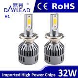 32W 3600lm aluminio faros LED Material para todo el coche