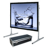 Plus récent Oui Portable Large Fast Fold Screen avec Draper Kit, Easy Folding Screen