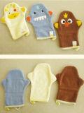 100% coton gant de toilette cute baby douche jouet