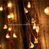 20LED Micro LED Bateria Firecracker String Lights Silver Copper Wire