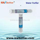 Cartouche d'épurateur de l'eau de CTO avec la cartouche filtrante tournée de l'eau