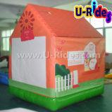 L'air gonflable scellée bouncer chambre cavalier gonflable château gonflable pour les enfants