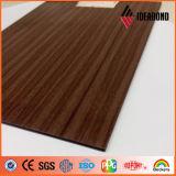 El panel compuesto de aluminio de la mirada de madera (AE-303)