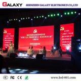 Il tabellone per le affissioni locativo dell'interno di RGB P2.98 P3.91 P4.81 LED per il congresso della fase di esposizione con di alluminio la pressofusione