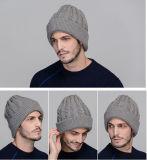 Gestrickte Wolle-Hüte und Schutzkappen der kundenspezifischen Männer