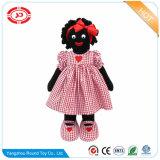 Garçon matériau tricoté coton noir poupée Golliwog farcies