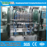 Straight Liner Máquina de enchimento de óleo de cozinha de 6 cabeças