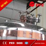 Grand réservoir de cuivre rouge de fermenteur de vin