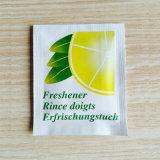 Wipes molhados Scented limão para o uso adulto da limpeza da mão e da face