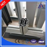 Profil en aluminium pour le matériau de porte et de guichet avec la qualité