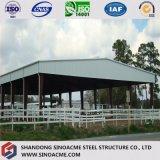 Sinoacmeは鉄骨構造の馬小屋の小屋を組立て式に作った