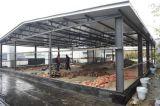 Vor-Ausgeführte helle Stahlkonstruktion-Werkstatt mit Aluminiumlegierung-Fenster