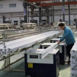 بيضاء [بفك] قطاع جانبيّ إطار /UPVC قطاع جانبيّ /Plastic [بفك] قطاع جانبيّ
