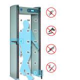 Porte d'inspection de garantie d'écran LCD de 18 zones avec le contrôleur éloigné