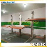 Auto-Parken-Pfosten-Auto-Parken-Maschine Aufzug/zwei des Pfosten-zwei