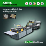 Bolso Ziplock No tejido-PP que hace la máquina