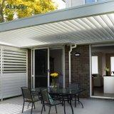 Auvent en aluminium imperméable à l'eau de patio de toit d'ouverture