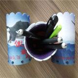 Bolso promocional del fieltro de la caja de lápiz de los estudiantes del bolso de las lanas de Nepal para la pluma