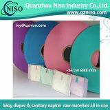 Excellente bande facile de l'adhésif pp pour les matières premières de serviette hygiénique