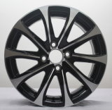 Колесо алюминиевого сплава 15 дюймов черное автоматическое для Хонда