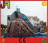 Glitter inflável do navio pirata gigante para venda