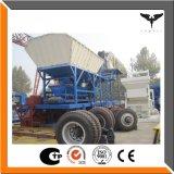 completamente planta 35m3/H de tratamento por lotes concreta móvel automática (YHZS35)