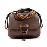 Zwei Größen-Schulter-Handtaschen-echtes Leder-Dame-stilvolle Beutel Emg4770