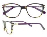 Het nieuwe Frame van de Oogglazen van het Frame van Eyewear van de Acetaat van de Manier Buitensporige Kleurrijke