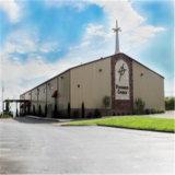Bâtiment d'église en acier à construction moderne à faible coût
