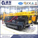 La plupart d'Economical&Multi-Fonction sur le marché ! ! ! Complètement plate-forme de forage Hfdx-6 hydraulique