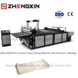 Machine de coupe non tissée de haute qualité avec soudage par ultrasons Zxq-A1200