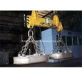 Tirante magnético elétrico para as sucatas de aço no guindaste aéreo