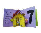 Livro pop-up de impressão 3D personalizado para crianças