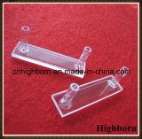 De transparante Aangepaste Cel van de Cuvette van het Glas van het Kwarts per Tekening