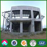 高品質のプレハブの鉄骨構造のショールーム