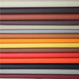 Matériau en cuir d'ameublement de haute qualité résistant à l'abrasion avec un prix bon marché