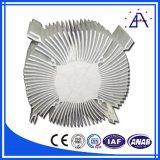 6061 T6 알루미늄 밀어남 열 싱크 또는 알루미늄 열 싱크