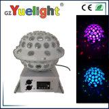 La tête mobile DJ d'UFO de cristal de RVB LED s'allument