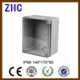 140 * 170 * 95 Boîtier de commutation en plastique imperméable à l'eau IP66 haute qualité
