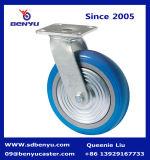Bogenförmiges Hoch-Erträgliches Schwenker-Fußrollen-Blau-Hochleistungsrad