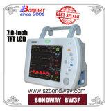 Draagbare Geduldige Monitor in Ziekenwagen ICU, de Redding van het Gebied, de Zaal van de Noodsituatie, Chirurgisch Gebruik