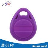 문 접근 제한 RFID 중요한 Fob Em4100 아BS 열쇠 고리